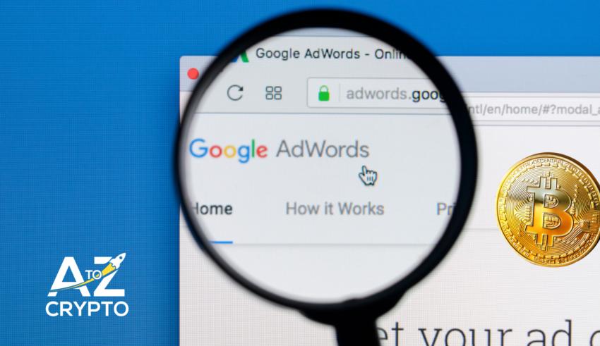 google ads crypto